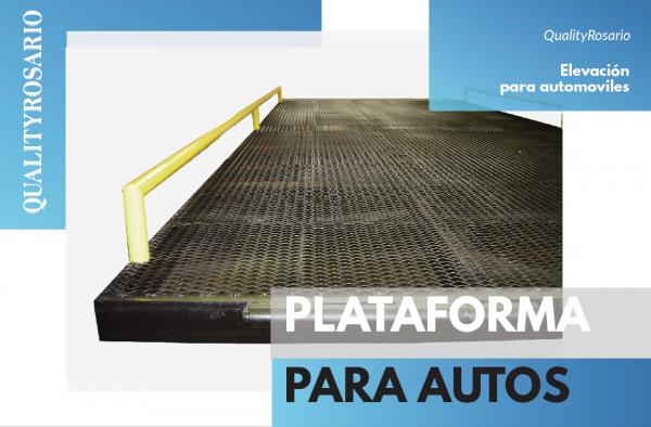 Plataforma para autos